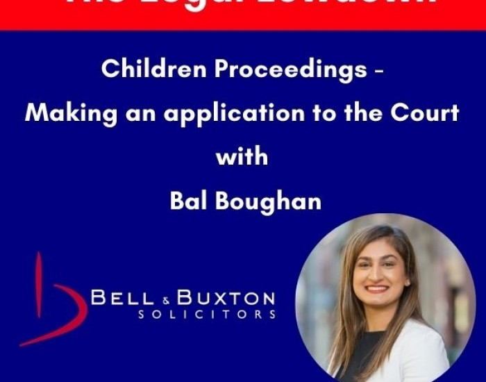 Children Proceedings - Keeping Up With Family Law Podcast