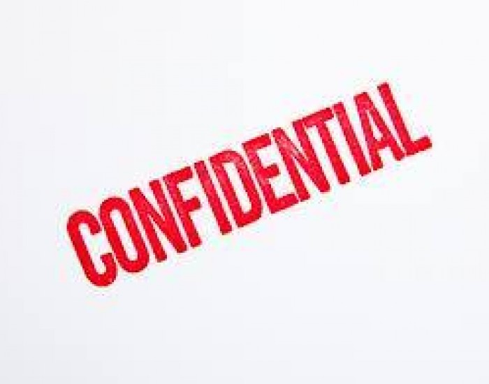 Client Confidentiality...