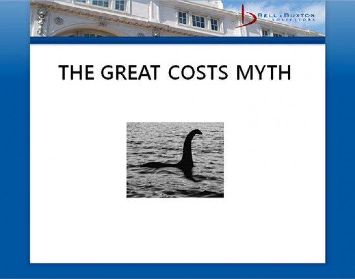 The Great Costs Myth...