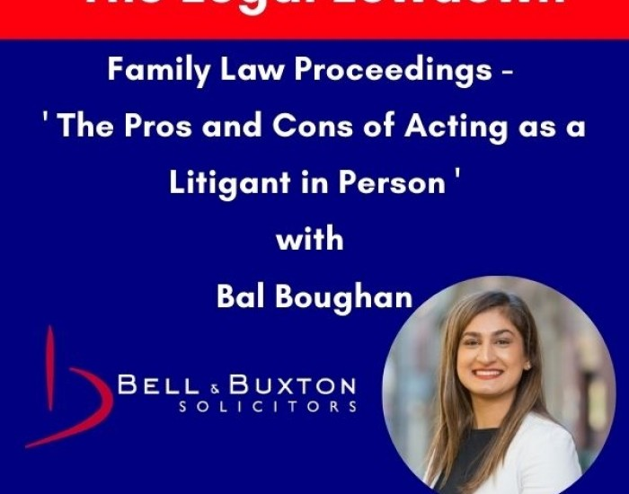 Litigants in Person - Keeping Up With Family Law Podcast