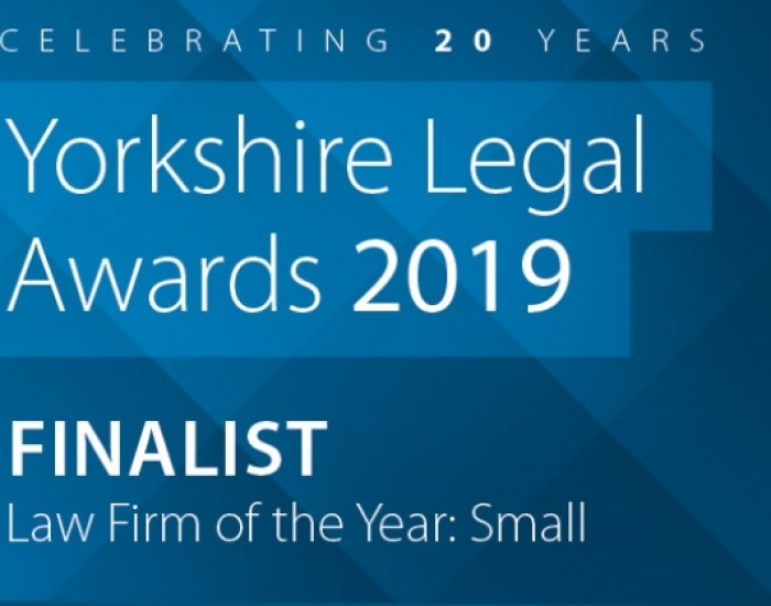 Yorkshire Lawyer Awards 2019 Finalists!